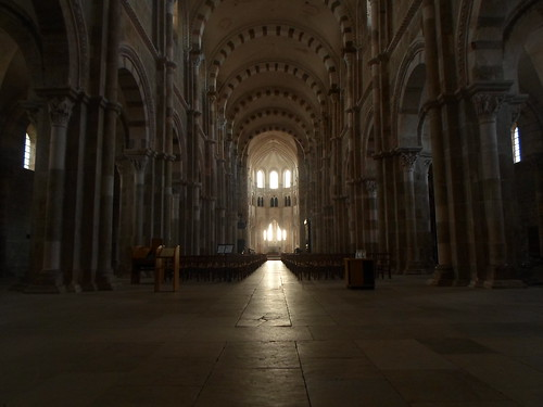 Light and Dark, St. Madeleine Vezelay