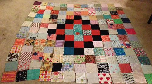 Scrap Vomit for 100 Quilts for Kids #2