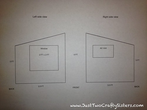 Revised dog house plans
