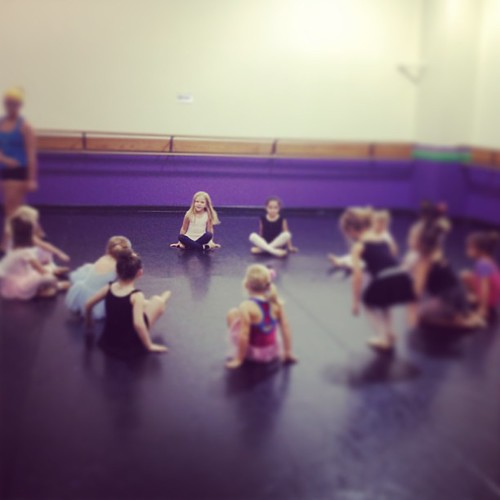 Dance class, Day 1. What more can a girl want?