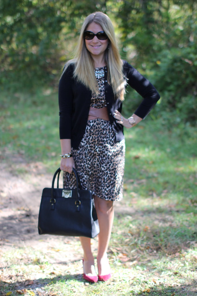 How to Wear Animal Print at Work