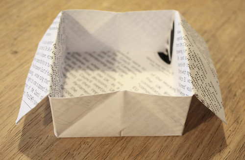 Origami box by Helen in Wales