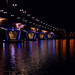 Small photo of Kuokkala bridge at night