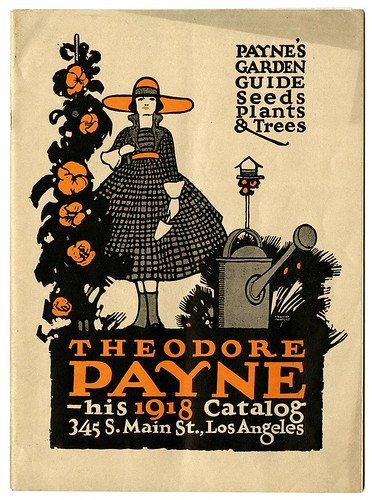 Catalog, Theodore Payne, Seedsman and Nurseryman, Los Angeles [cover]