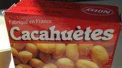 Nutsy Cacahuètes salées (Salted peanuts), SNCF Intercités train, France
