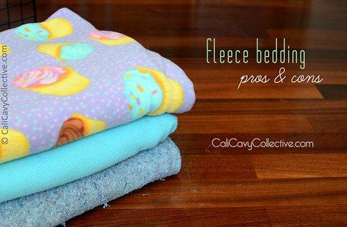 Fleece bedding pros and cons