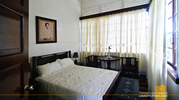 Bedroom at the Macapagal-Macaraeg Ancestral House in Iligan City