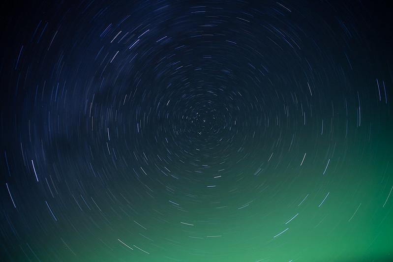 極光與星軌