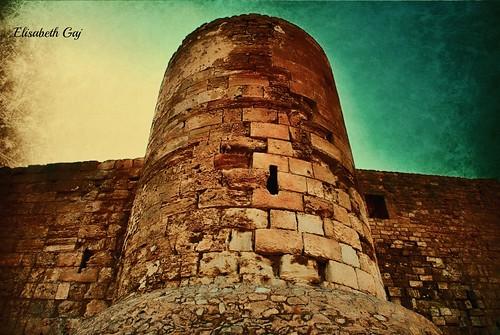 old travel history architecture tunisia djerba afryka houmtsouk elisabethgaj djerba2010 fortborjelkbir