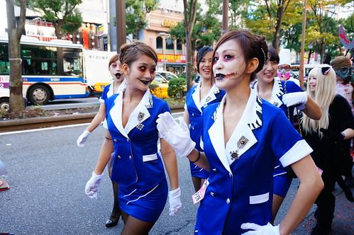 Kawasaki Halloween Parade 2013 46