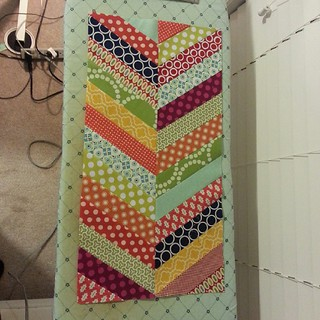 October Dream circle block. I'm a procrastinator this month. #dogoodstitches