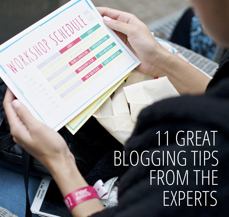 11 Great Blogging Tips From The Experts