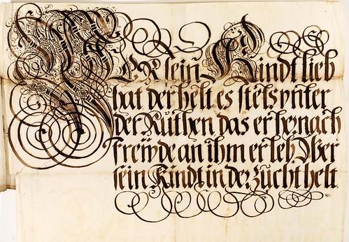008-Kalligraphische Schriftvorlagen- 1626-1634- Johann Hering- Staatsbibliothek Bamberg