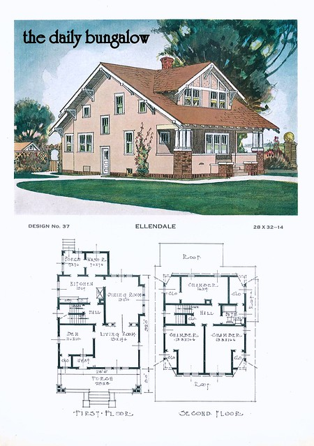 1920 Building Service House Plans Flickr Photo Sharing