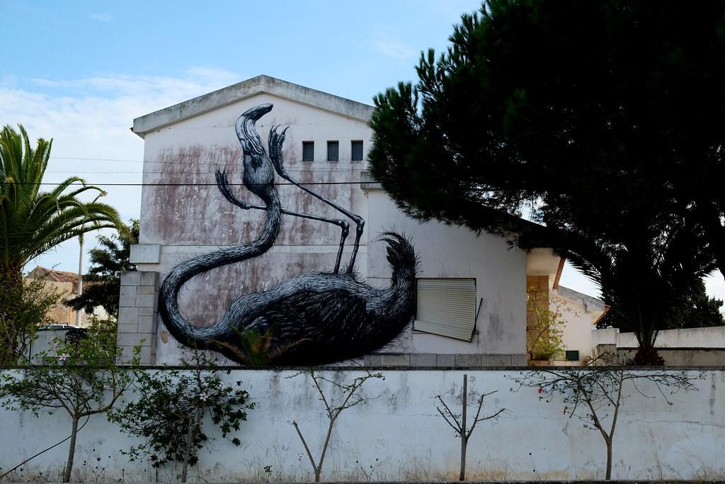 "streetart | roa | \""artur festival\"" lagos . portugal"
