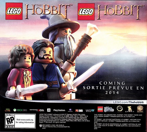 Hobbit Video Game - Spring 2014
