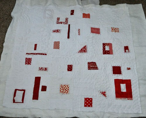 binary quilt quilted