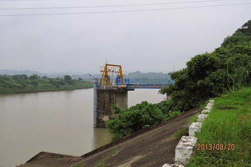 玉峰堰自來水水質水量保護區將配合台南市政府解編、 以利統一進駐開發?(圖/水資源保育聯盟提供)