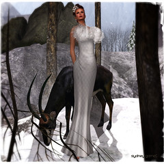 The White Armory Totally In Sync Gown
