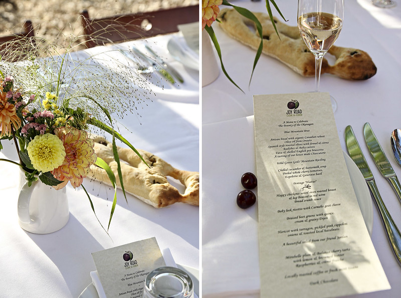 the menu and setting