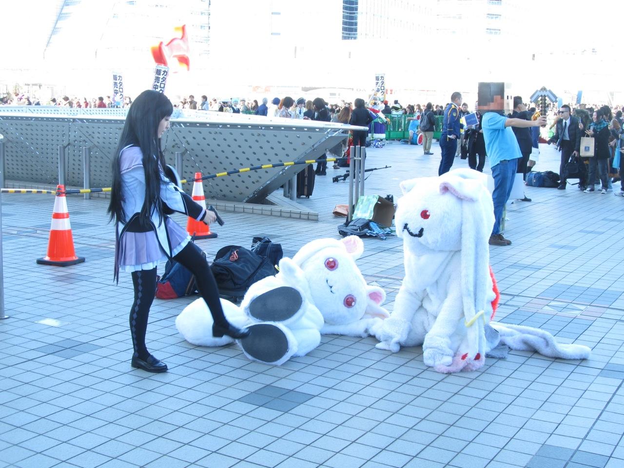 Kyubey &  Homura Akemi (Puella Magi Madoka Magica) -Comic Market 85-