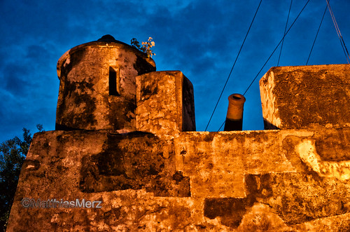 blue sky colour castle wall night nikon gun macao