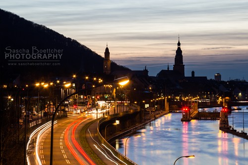 Heidelberg evening road III