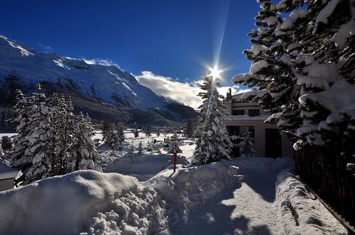 St. Moritz Dorf 29-12-2013