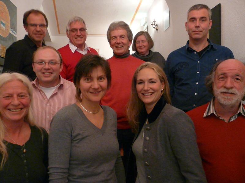 Gemeinderatskandidaten der SPD Andechs mit Landratskandidatin Julia Ney