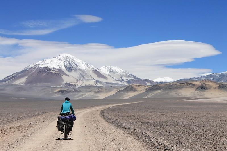 Cycling to El Muerto.