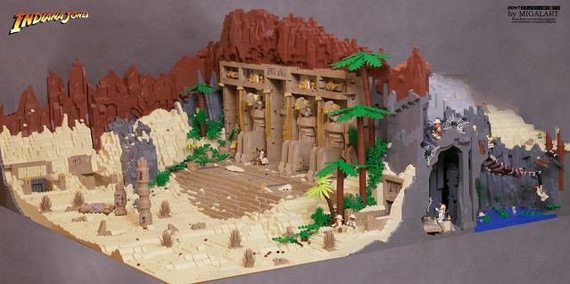 Indiana Jones And The Temple Of Kings The Brothers Brick