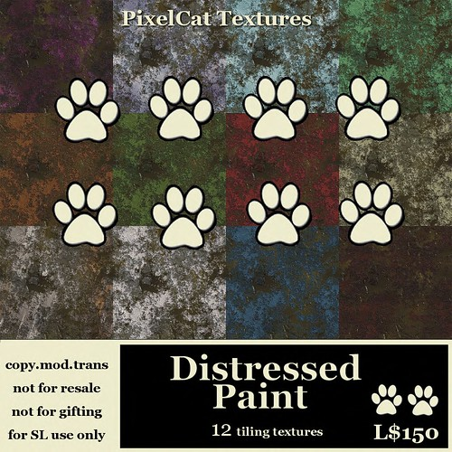 PixelCat Textures - Distressed Paint