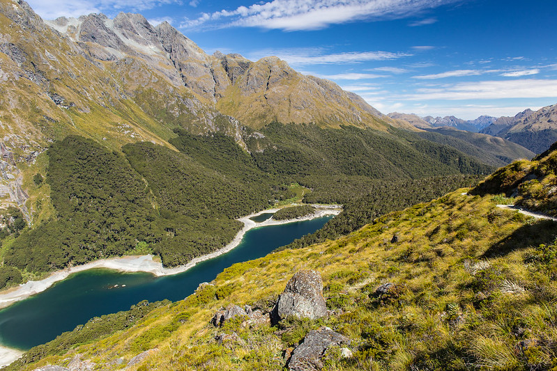 Lake Mackenzie and Hollyford Valley