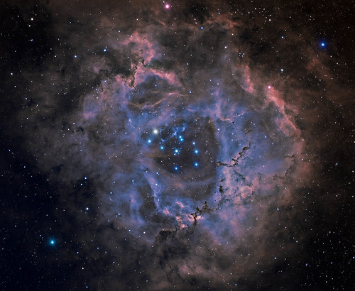 Rosetta Nebula. by Mick Hyde