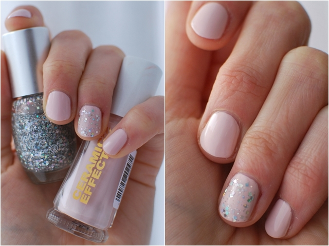 Layla Ceramic Effect CE47 | essence nail art twins glitter topper 02 Julia