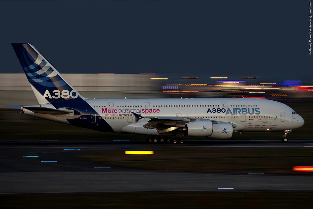 Декабрьский джаз от Airbus