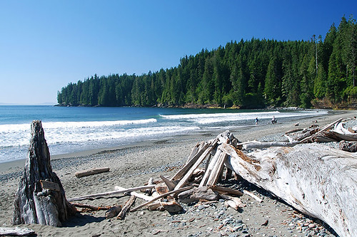 China Beach, Juan de Fuca Provincial Park, Port Renfrew, British Columbia, Canada