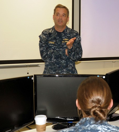 Navy's SWO Boss Talks Tactical Proficiency, Career Path