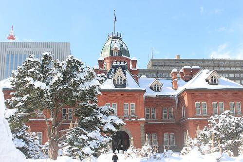 北海道庁の赤煉瓦