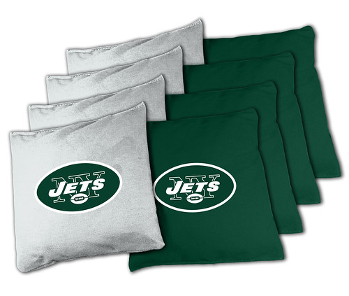 New York Jets Cornhole Bags