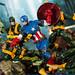 Marvel Now Captain America vs Hydra Agents by mickeyrdj