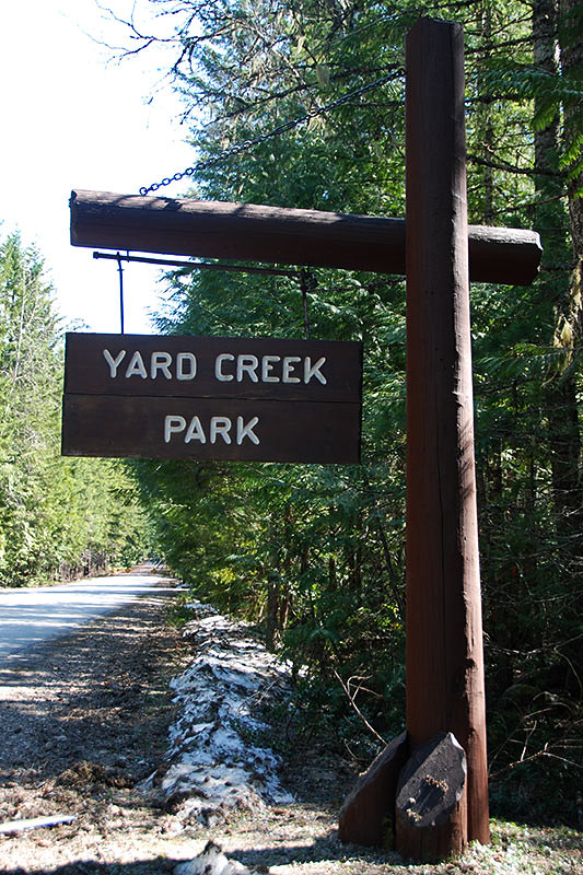Yard Creek Park, Sicamous, Thompson Okanagan, British Columbia, Canada