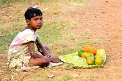 The Orange Seller / Orange Girl