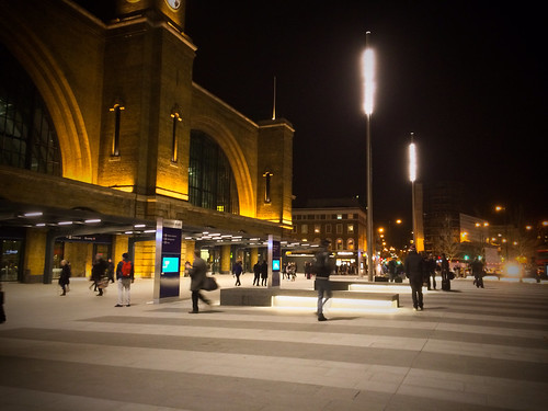 <p>King's Cross station, new frontage</p>