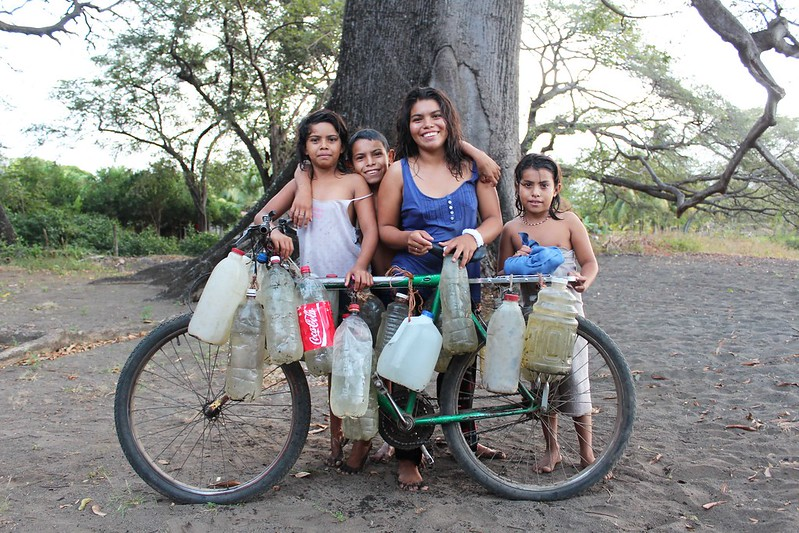 kids of isla de ometepe