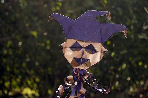 Origami 'Cabeza de Bufón' (Fernando Gilgado)