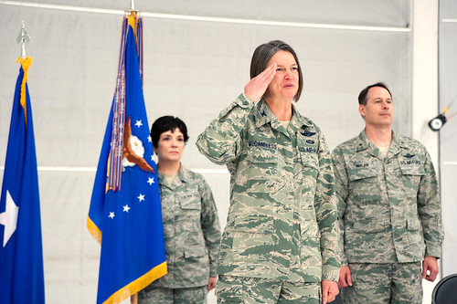 Col. McCandless assumed command of 124th Fighter Wing by 124 Fighter Wing