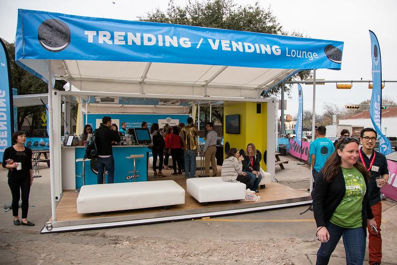 The Oreo Trending Vending Lounge