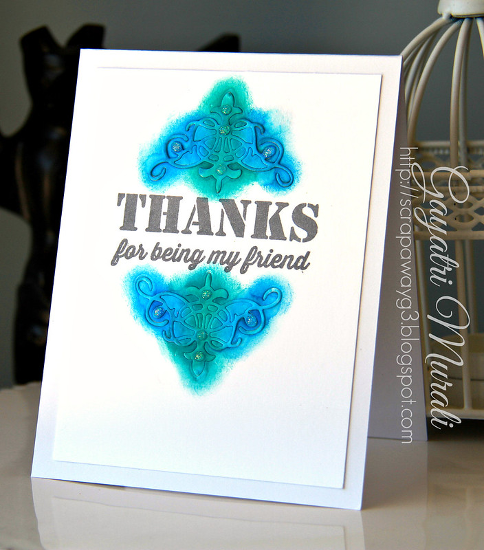 Thanks card