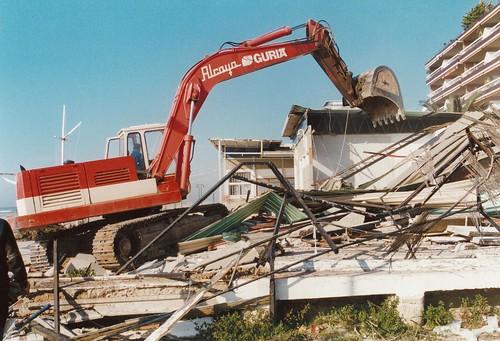 Demolició del club